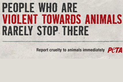 PETA: part of the ad banned by the ASA