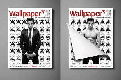 Karl Lagerfeld and Philippe Starck guest edit IPC's Wallpaper*
