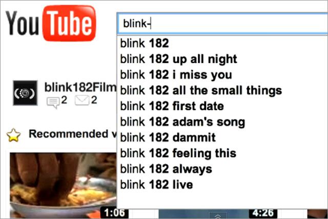 Blink-182: rewards YouTube fans