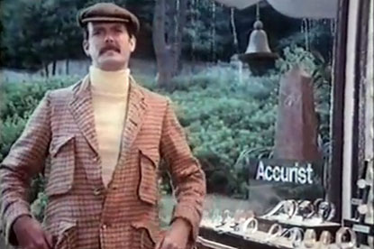 Cleese...set to appear in Accurist ads again