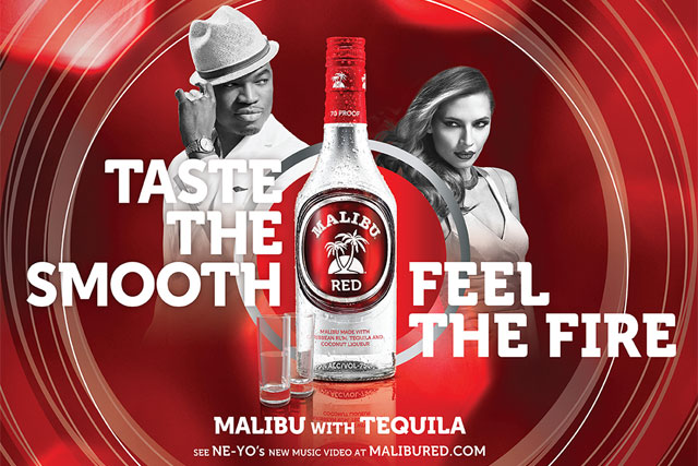 Malibu Red: Pernod Ricard's latest launch