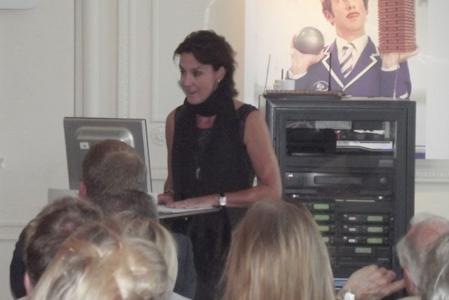 Zoe Osmond: chief executive officer presents at the Nabs President's Breakfast