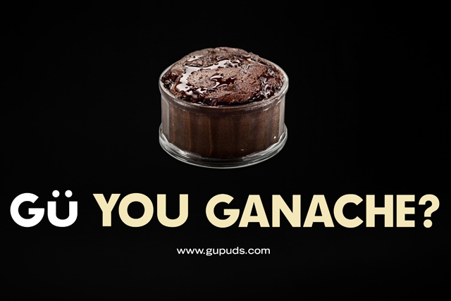 Gü Puds: 'Gü you ganache?' by Mother