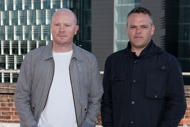 Matt Lee and Pete Heyes: creative team
