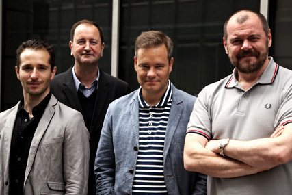 Adrian Rossi, Tim Riley, Alex Grieve, Mark Fairbanks