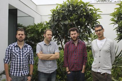 Nathan Bentley, Matthew Knight, Ted Hunt, Asi Sharabi