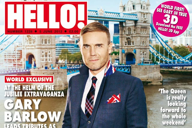 Hello!: publishes Gary Barlow cover in 3D