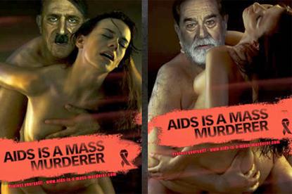 Aids ad... controversy