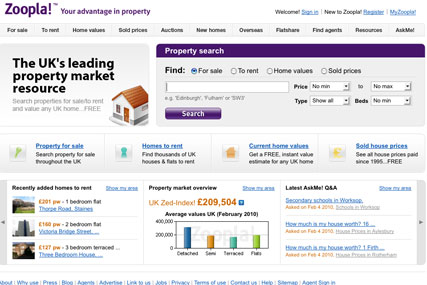 Zoopla: has hired Albion to create a new brand strategy