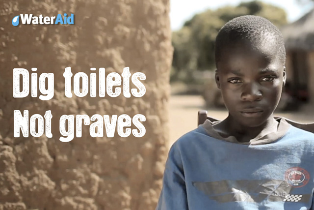 WaterAid: aims to boost its number of donors