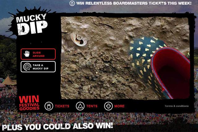 Motorola: Defy Mucky Dip competition