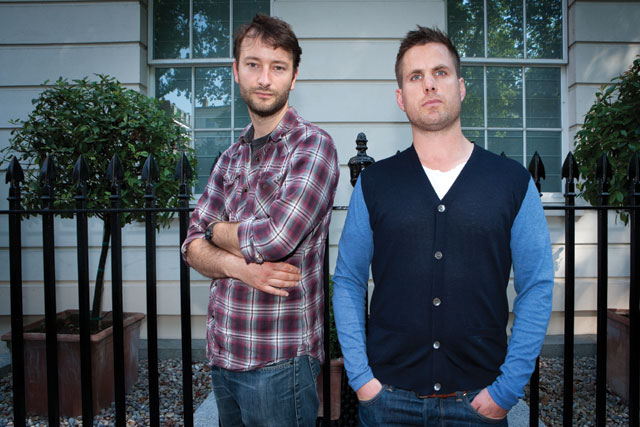Hilson (left) and Allen: the duo created Honda's 'spark' spot