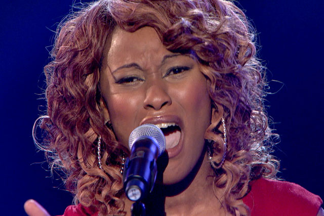 The Voice: Joelle Moses performs on the BBC One show on Saturday