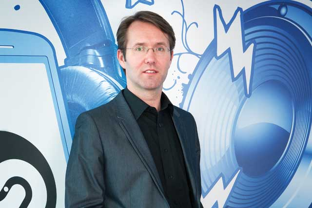 Shazam: chief executive, Andrew Fisher