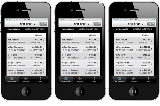 First Direct: HSBC's first transactional banking app