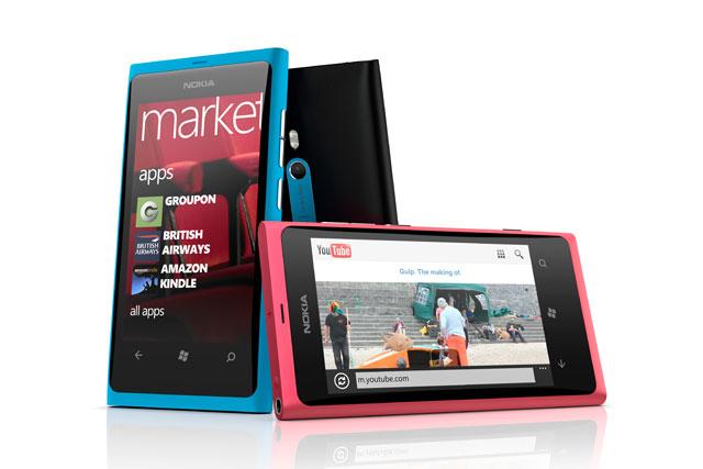 Nokia Lumia 800 Windows phones