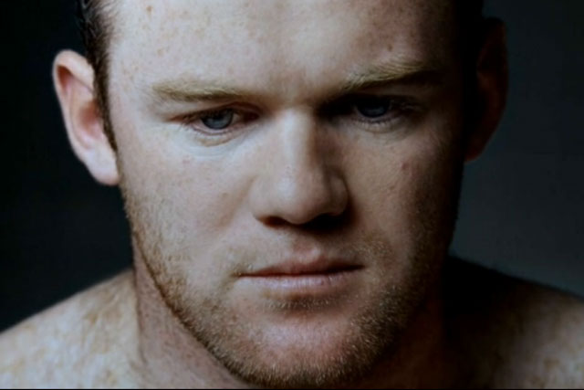Wayne Rooney in a Nike Euro 2012 TV ad