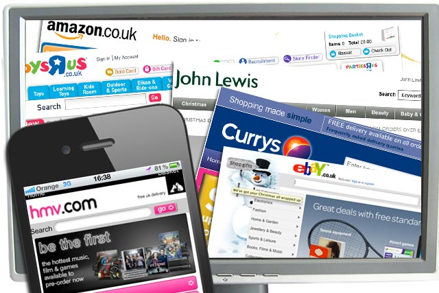 Online Christmas sales forecast to rise 14% to £7.75bn