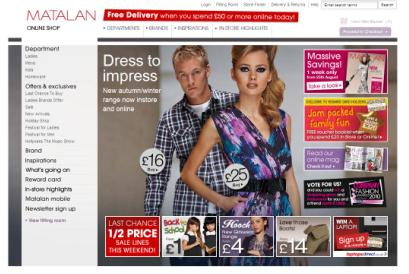 Matalan: reviewing ad account