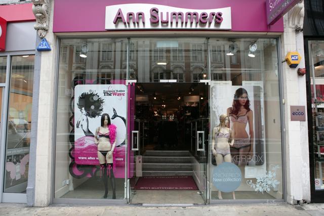 Ann Summers: expanding ranges