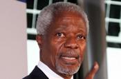 Kofi Annan...will speak at 2009 Cannes Lions