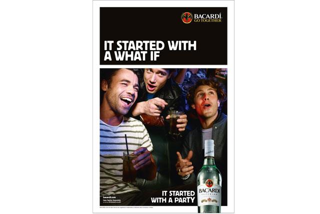 Bacardi... UK ads