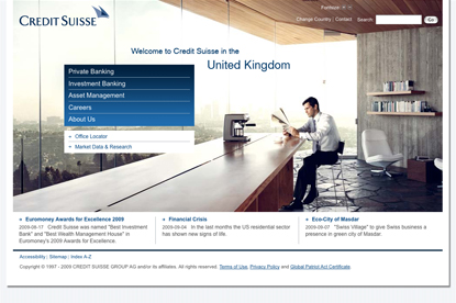 Credit Suisse... appoints Euro RSCG