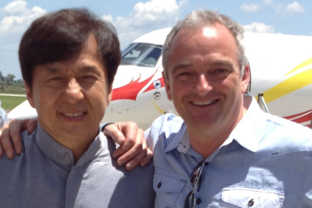 Jackie Chan and Graham Kerr