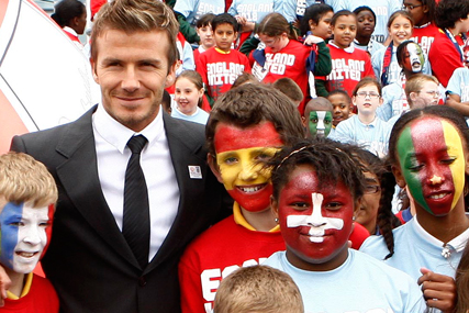 David Beckham: 2018 bid team vice-president