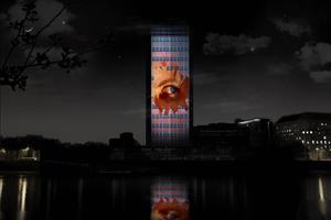 Milbank Tower will light up on 28 Nov