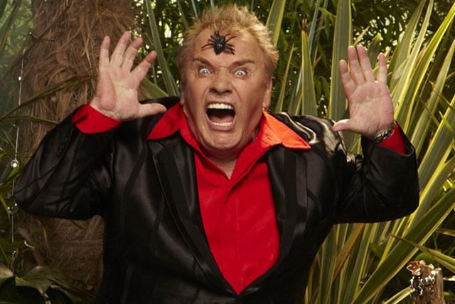 Freddie Starr: taken to hospital after appearing on I'm A Celebrity...