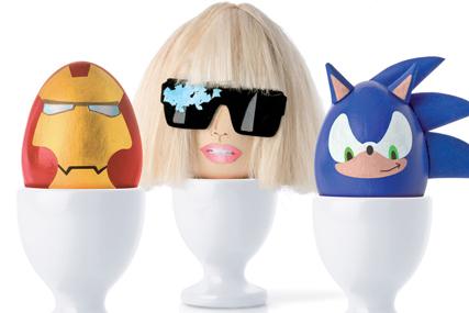 HMV: launches Lady Gaga model egg