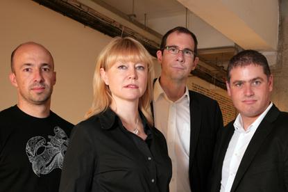 Albion...(l to r) Nick Darken, Liz Wilson, Glnn Britton, Jason Goodman