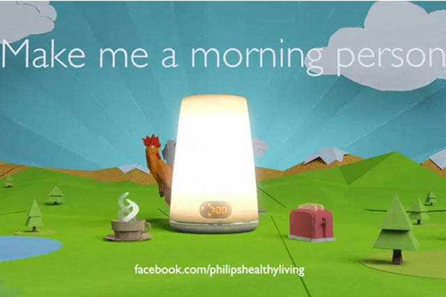 Philips: rolls out its Make me a morning person campaign