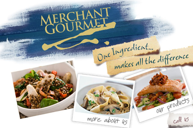 Merchant Gourmet: in contact with agencies