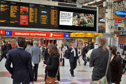 Rail station ads: outdoor under scrutiny