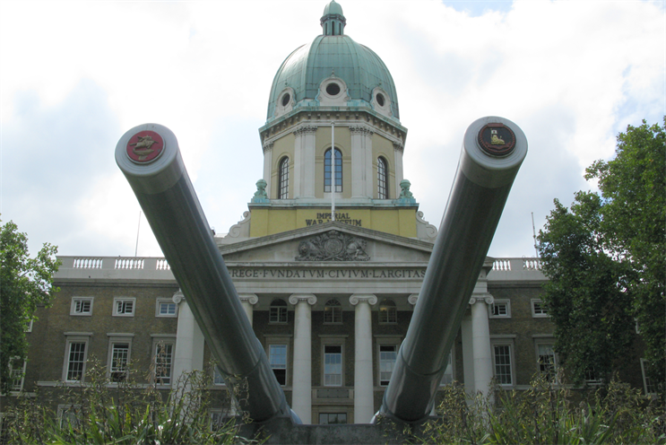 Imperial War Museums: pitch