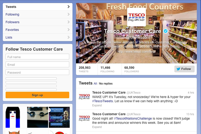 Tesco: most 'socially devoted' brand