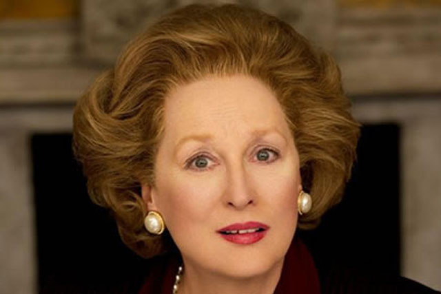 The Iron Lady... stars Meryl Streep