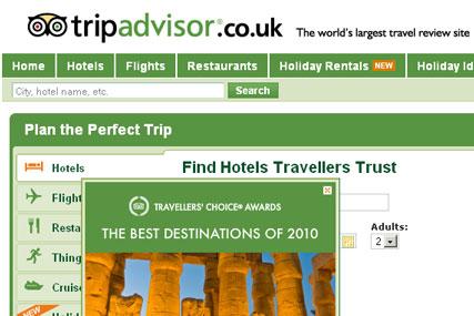 TripAdvisor launches online ad challenge