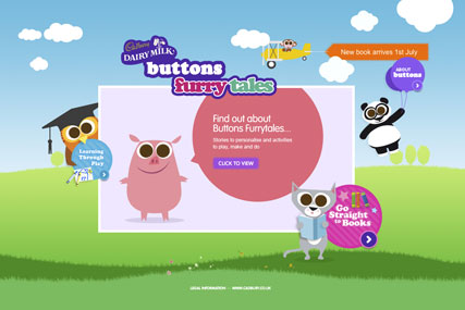 Cadbury Buttons: online activity