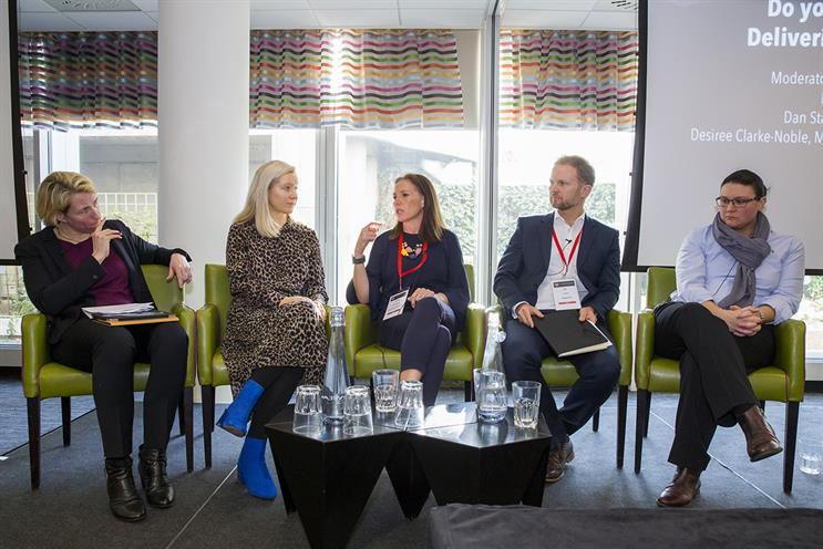 Future Fit: Lisa O'Keefe, Sport England; Campaign's Nicola Kemp; Clarke-Noble; Dan Staples, WiggleCRC; Kirsty Clarke, Stonewall