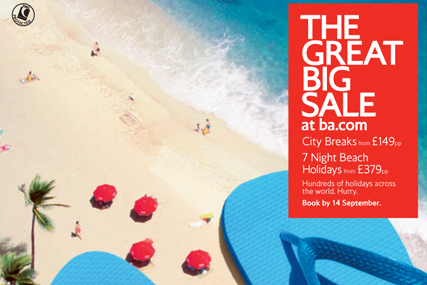 British Airways: Great Big Sale drive launches today