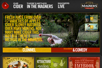 Magners: Glue overhauls website