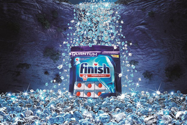 Finish Quantum: Reckitt Benckiser rolls out £3.5m marketing drive to support product launch