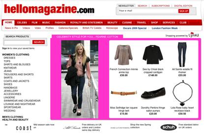 Hellomagazine.com…online shop