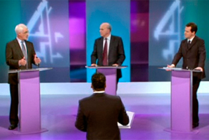 The Chancellors debate: on the campaign trail