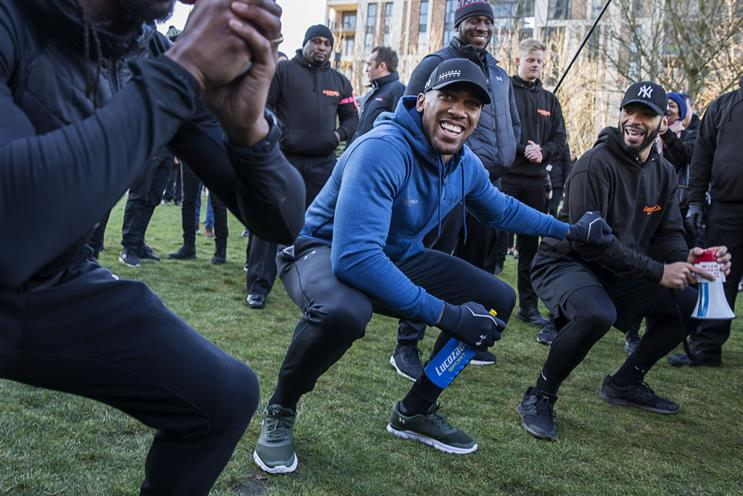How Lucozade aims to 'cut through' fitness market with Anthony Joshua