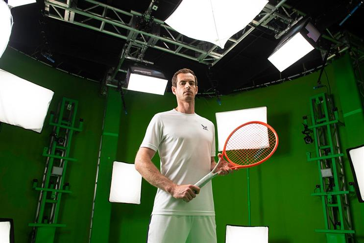 American Express: Andy Murray guides players to perform their best swing