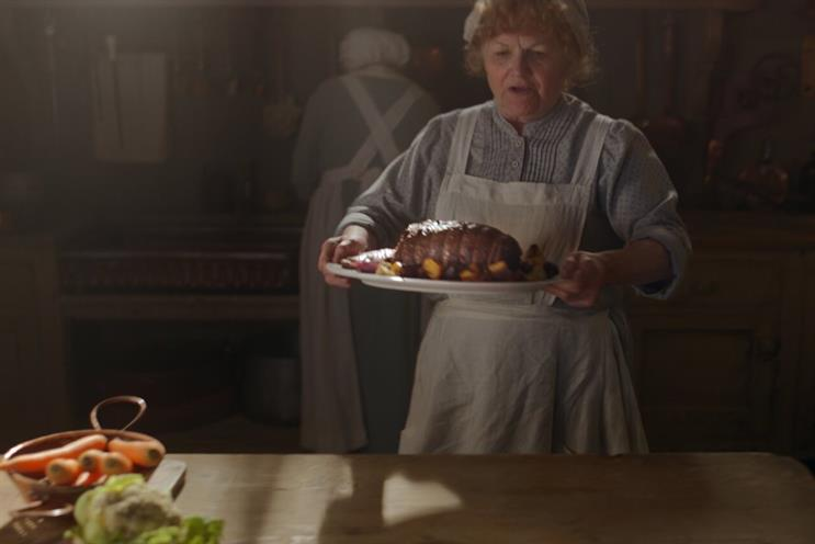 Asda checks into Downton Abbey in new TV ad